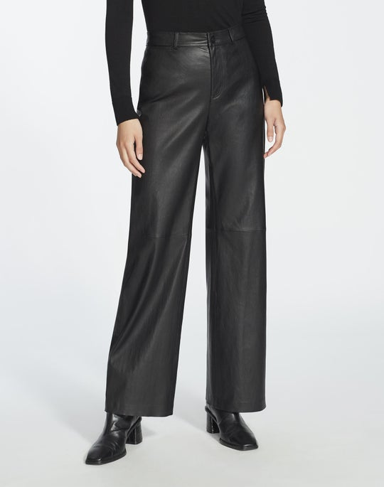 Silky Stretch Nappa Ankle Clark Pant