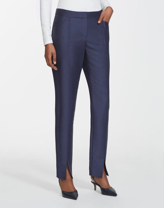 Petite Gateway Cloth Waldorf Slim Pant