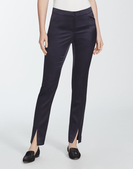Reverie Satin Cloth Slim Waldorf Pant