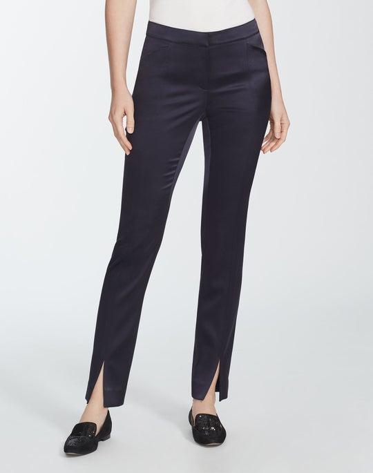 Reverie Satin Cloth Slim Waldorf Pant