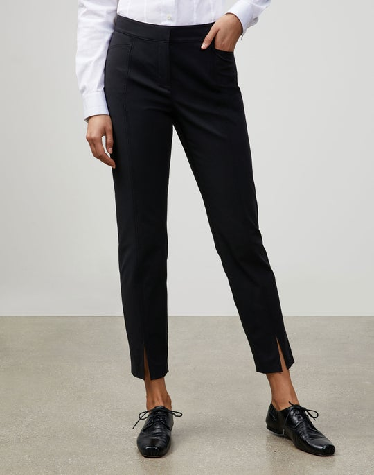 Petite Fundamental Bi-Stretch Ankle Waldorf Slim Pant