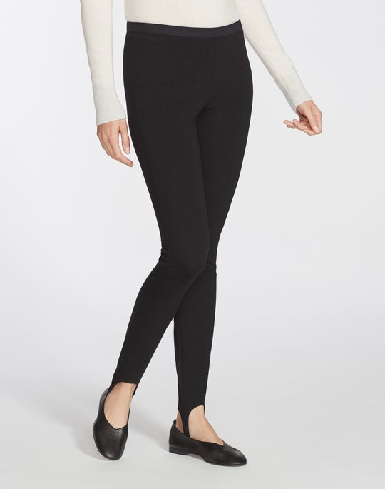 Plus-Size Punto Milano Stirrup Willoughby Pant
