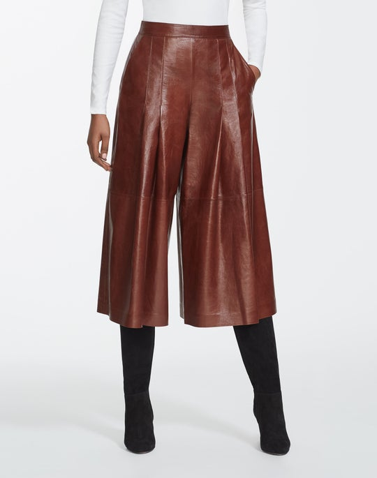 Lacquered Lambskin Arthur Culotte