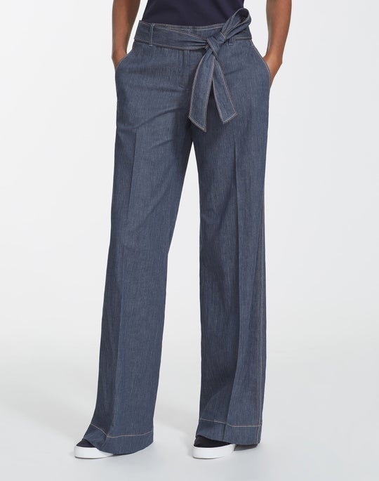Retro Cotton Broadway Pant