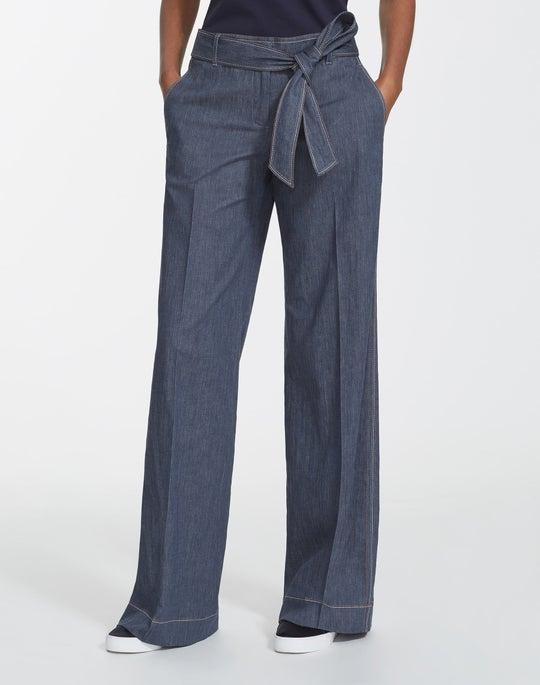 Retro Cotton Broadway Pant