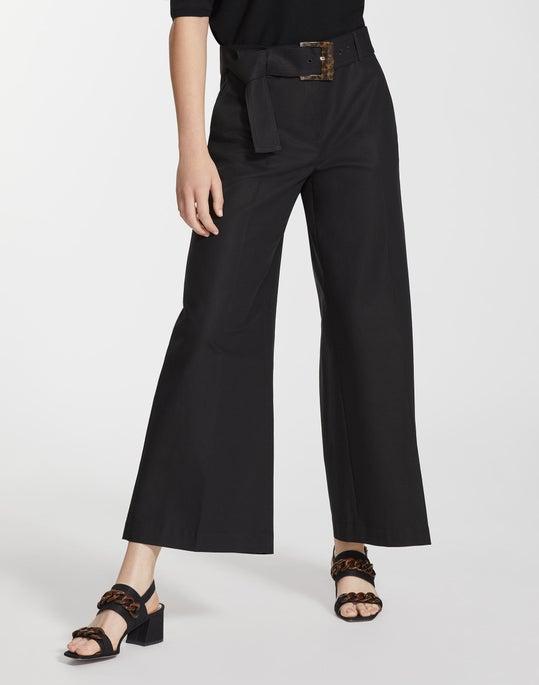 Plus-Size Metropolitan Stretch Cropped Rockefeller Pant