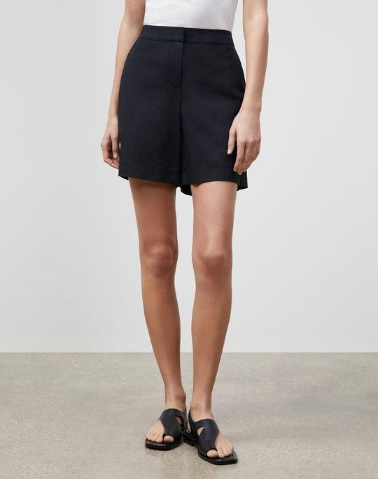 Fulton Short In Italian Bi-Stretch Pima Cotton