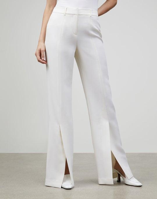 Plus-Size Charisma Cloth Roosevelt Slit Wide-Leg Pant