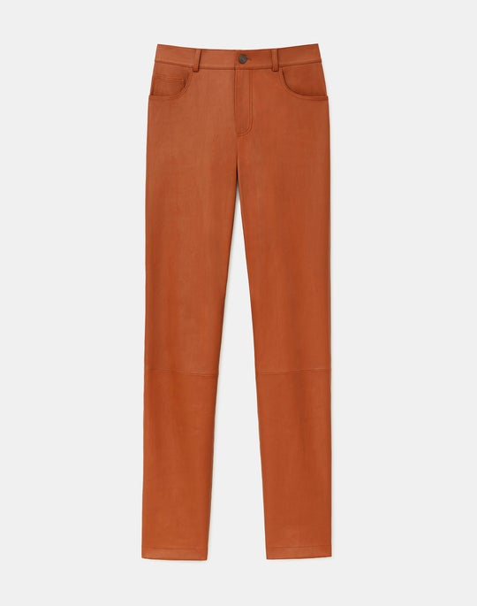 Reeve Pant In Silky Stretch Nappa