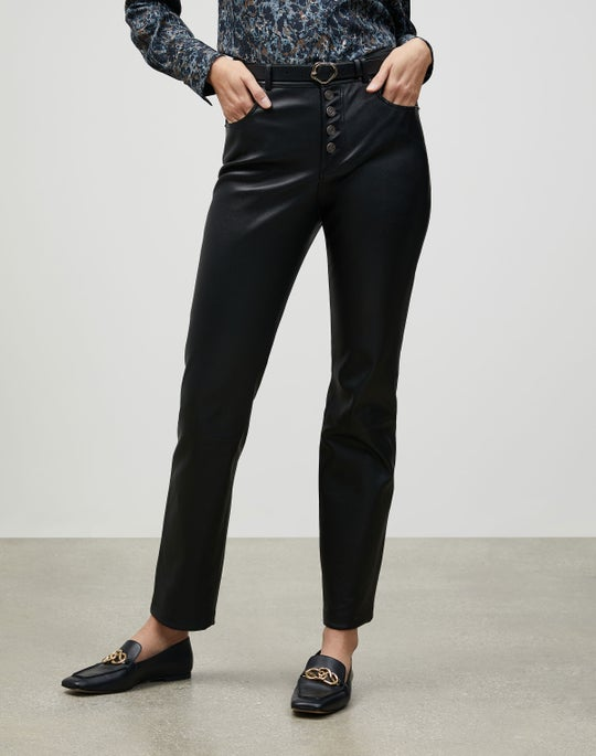 Silky Stretch Nappa Reeve Pant