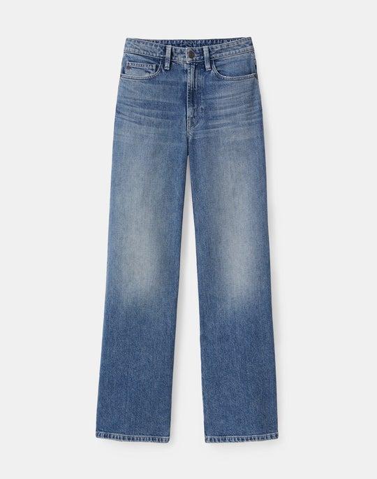 Wyckoff Cropped Wide-Leg Jean In L148 Denim