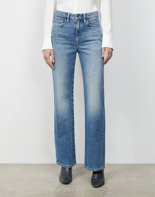 L148 Authentic Denim Wyckoff Wide-Leg Jean