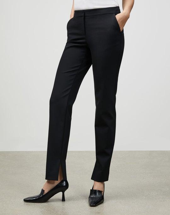Acclaimed Stretch Waldorf Side Slit Slim Pant