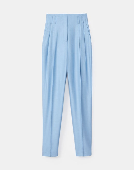 Plus-Size Degraw Pant In Studio Weave