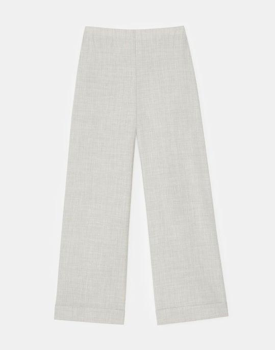 Riverside Cropped Pant In Italian Tropical Weave