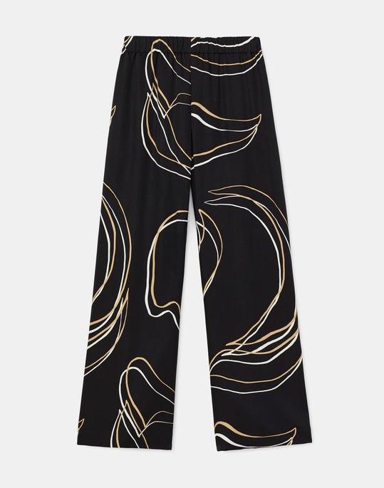 Plus-Size Riverside Cropped Pant In Garden Contour Print