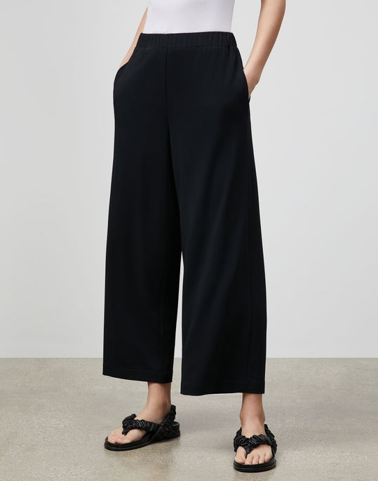 Riverside Cropped Pant In Midweight Matte Jersey