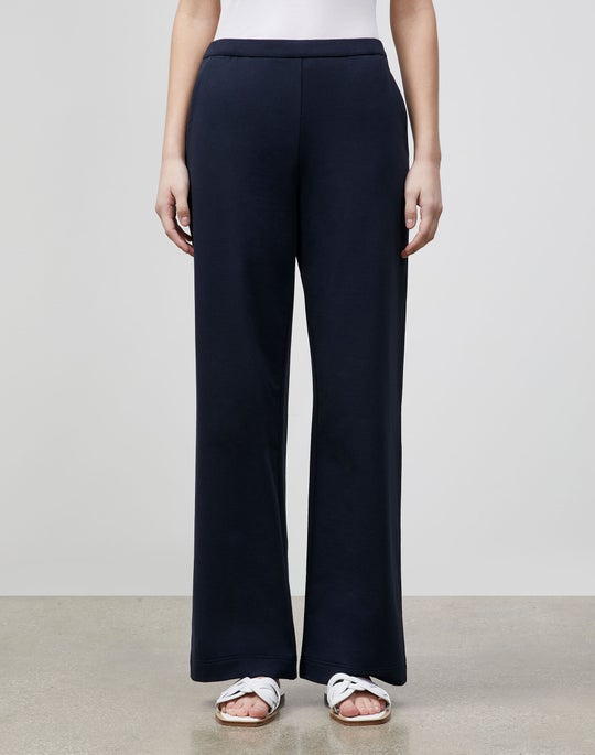 Plus-Size Webster Ankle Pant In Ultra Comfort French Terry