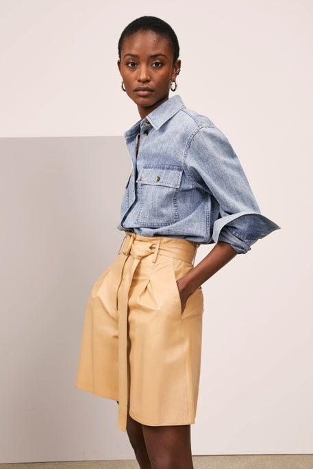 Ezra Shirt Jacket and Degraw Short