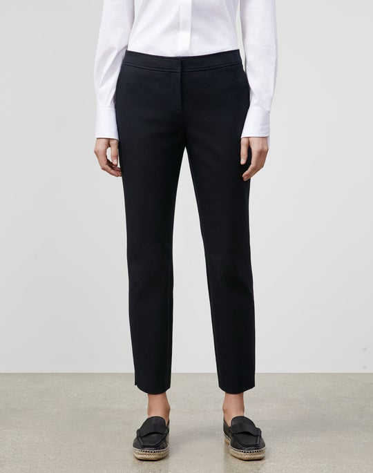 Petite Manhattan Slim Ankle Pant In Jodhpur Cloth