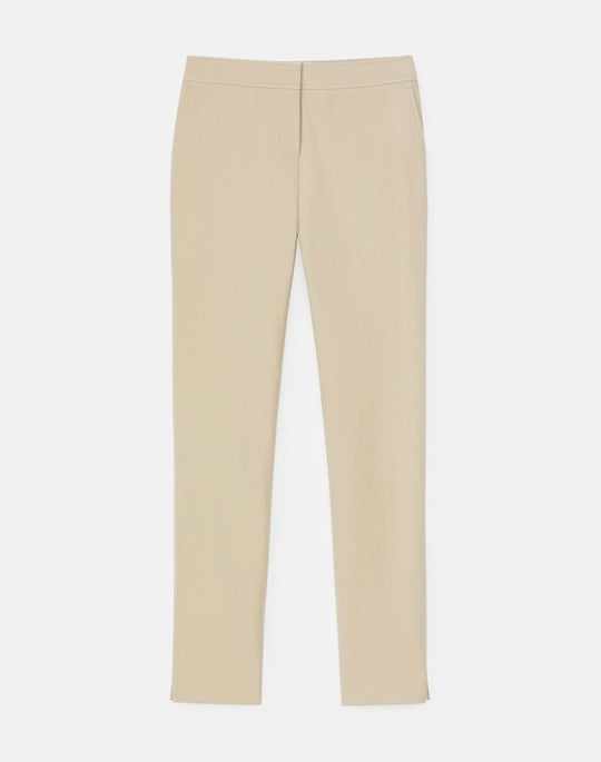 Plus-Size Manhattan Slim Ankle Pant In Jodhpur Cloth