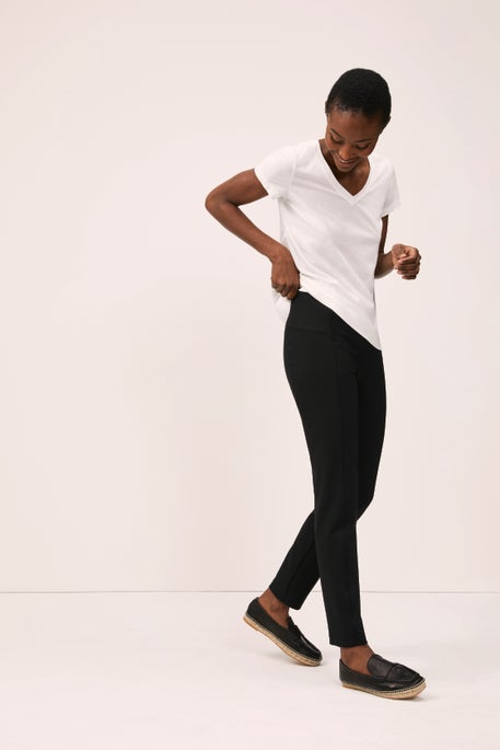 V-Neck Tee and Greenwich Pant