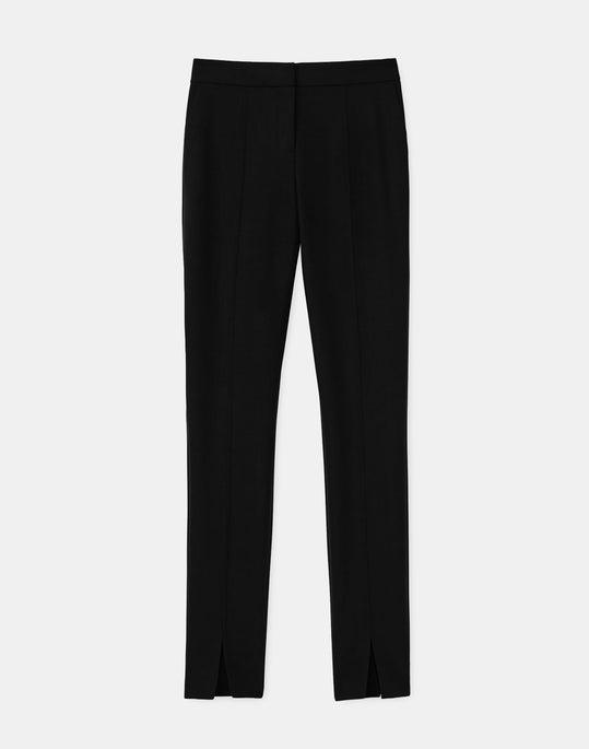 Manhattan Slim Pant In Luxe Italian Double Face
