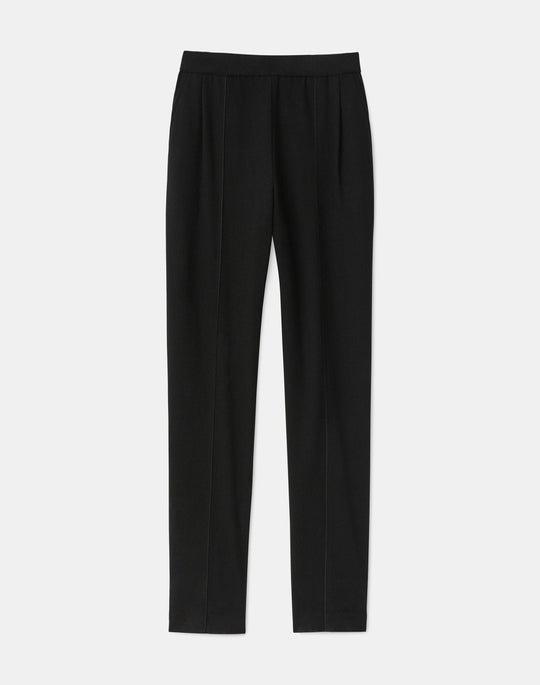 Hoyt Pant In Finespun Italian Wool-Cashmere