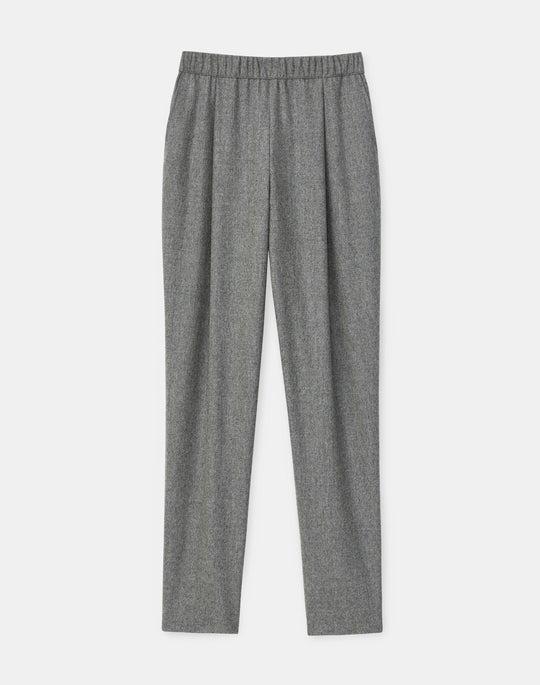 Petite Ashland Ankle Pant In Finite Italian Flannel