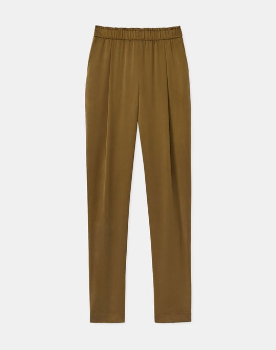 Ashland Pant In Artistry Silk