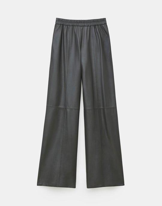 Riverside Pant In Tissue Weight Lambskin