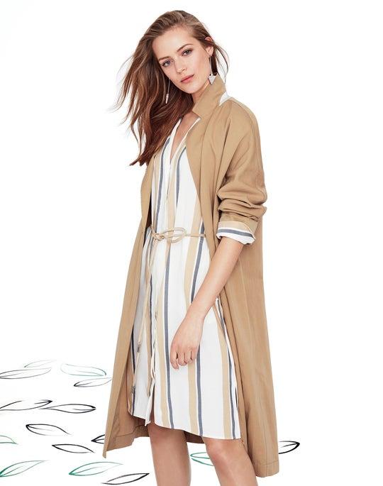 Long Carmelina Jacket and Calleigh Shirtdress