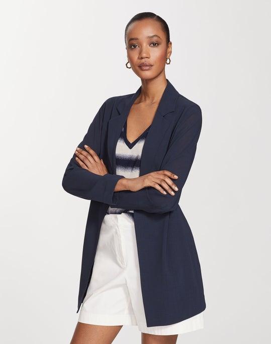Quantum Wool Gauze Demarius Jacket