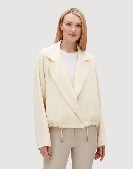 Surrealist Double-Face Wool Zaylee Jacket