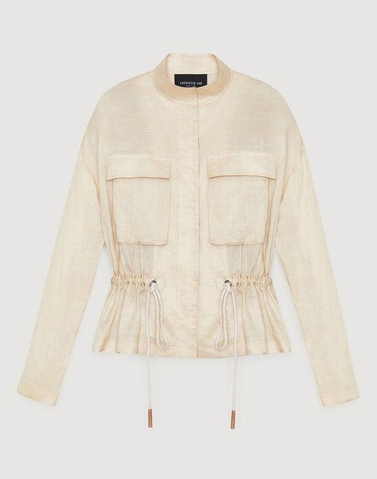 Petite Gemma Cloth Orlena Jacket