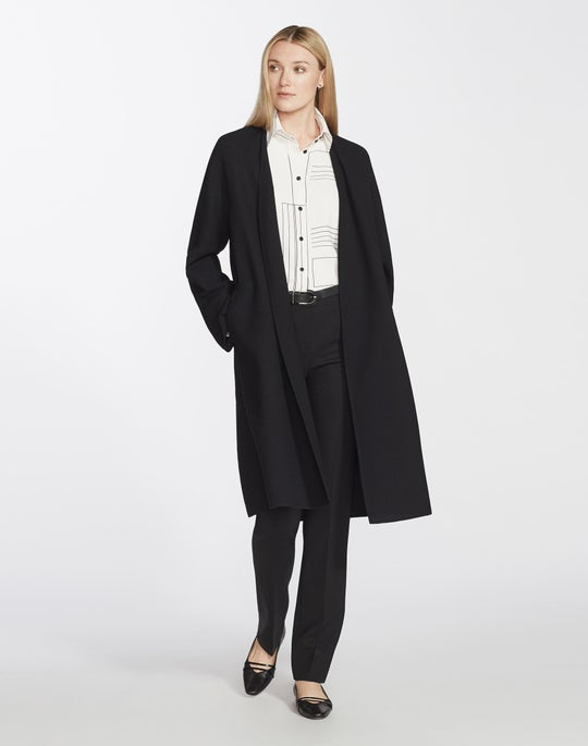 Plus-Size Nouveau Crepe Rishima Jacket