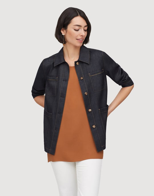 Plus-Size Mercantile Cloth Esmeralda Jacket