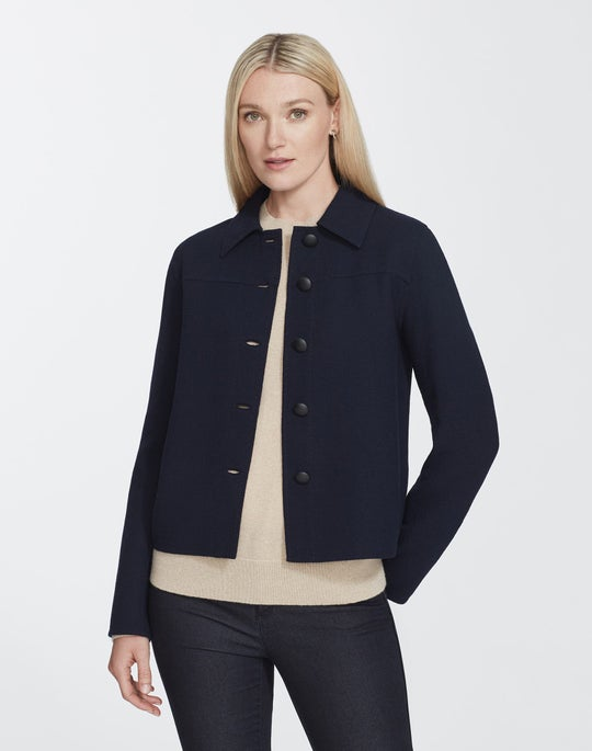 Nouveau Crepe Tomasa Jacket