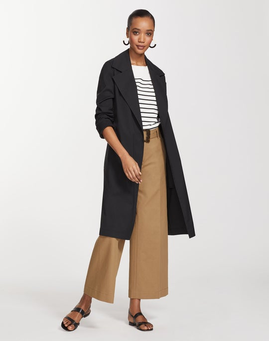Petite Classic Stretch Cotton Mayfair Trench Coat