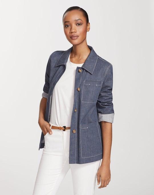 Retro Cotton Wellesley Jacket