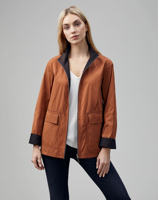 Eclipse Outerwear Reversible Riener Jacket