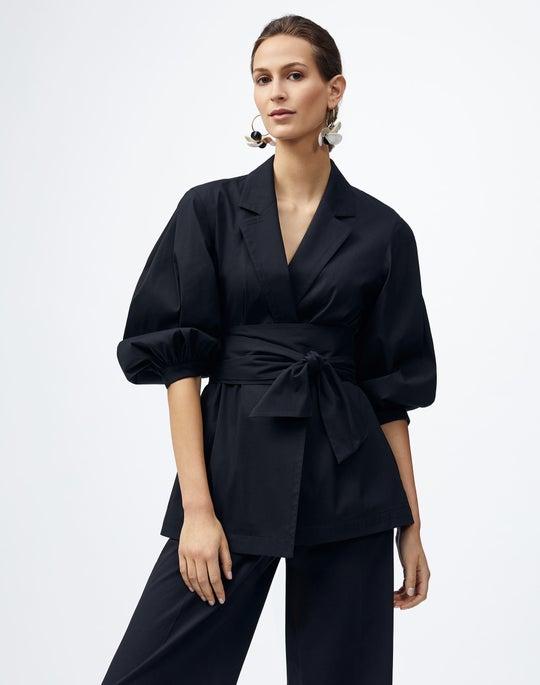 Plus-Size Classic Stretch Cotton Wexler Jacket