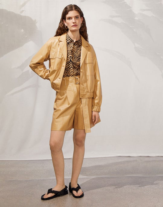 Leonie Jacket and Degraw Short