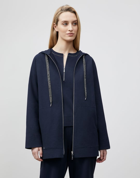 Plus-Size Corbin Jacket In Ultra Comfort French Terry