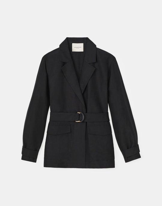 Petite Stewart Jacket In Coastal Cloth