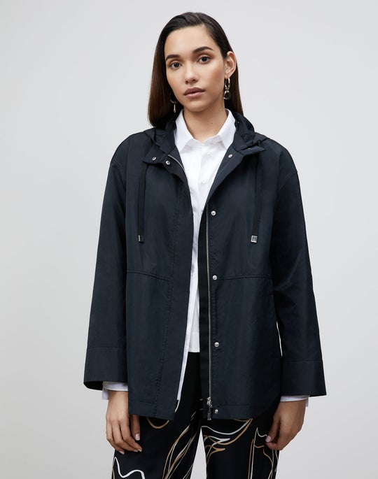 Plus-Size Ansel Jacket In Italian Crafted Taffeta