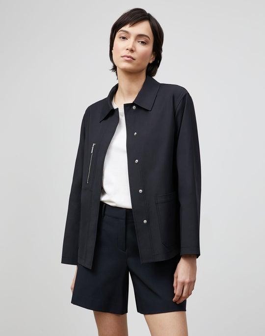 Plus-Size Huntington Jacket In Fundamental Bi-Stretch