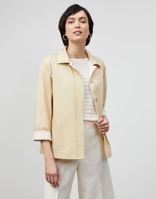Huntington Reversible Jacket In Eclipse Outerwear