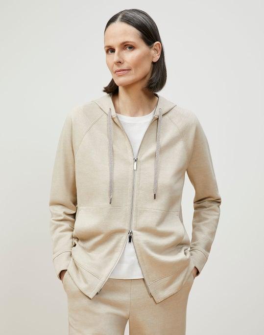 Nomi Jacket In Italian Cotton-Linen Terry