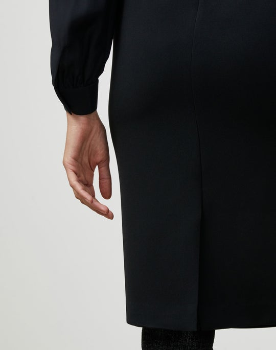 Petite Finesse Crepe Pencil Skirt